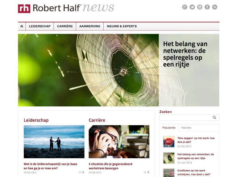 robert half blog